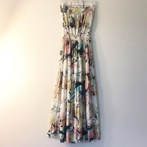 T-BAGS Los Angeles Long summer dress S